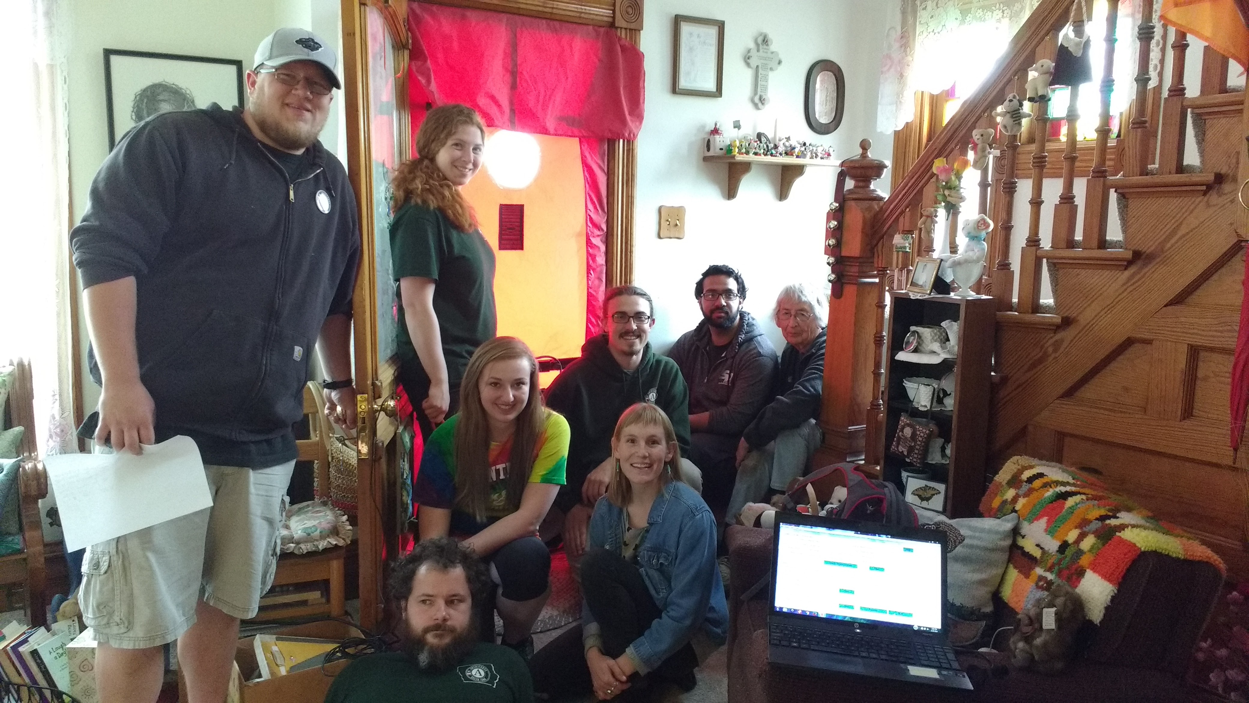 Clayton County Home Enery Assements by the Green Iowa Americorp team