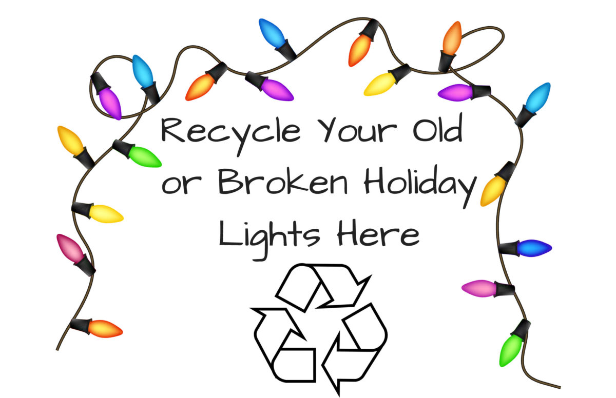 Recycle Christmas Lights.Clayton County Clean Energy District Encourages Recycling