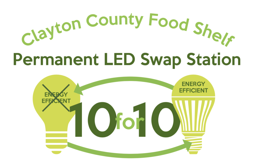Clayton County Food Shelf Permanent LED Swap Station