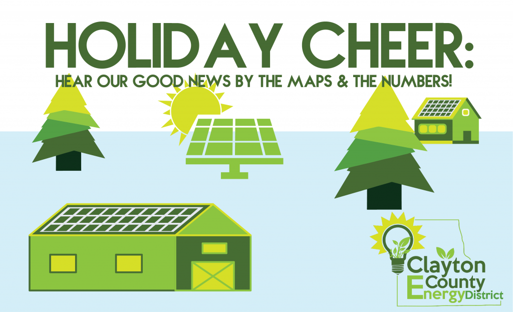 Upcoming: Holiday Cheer Energy Breakfast: Hear Our Good News by the Maps & the Numbers!