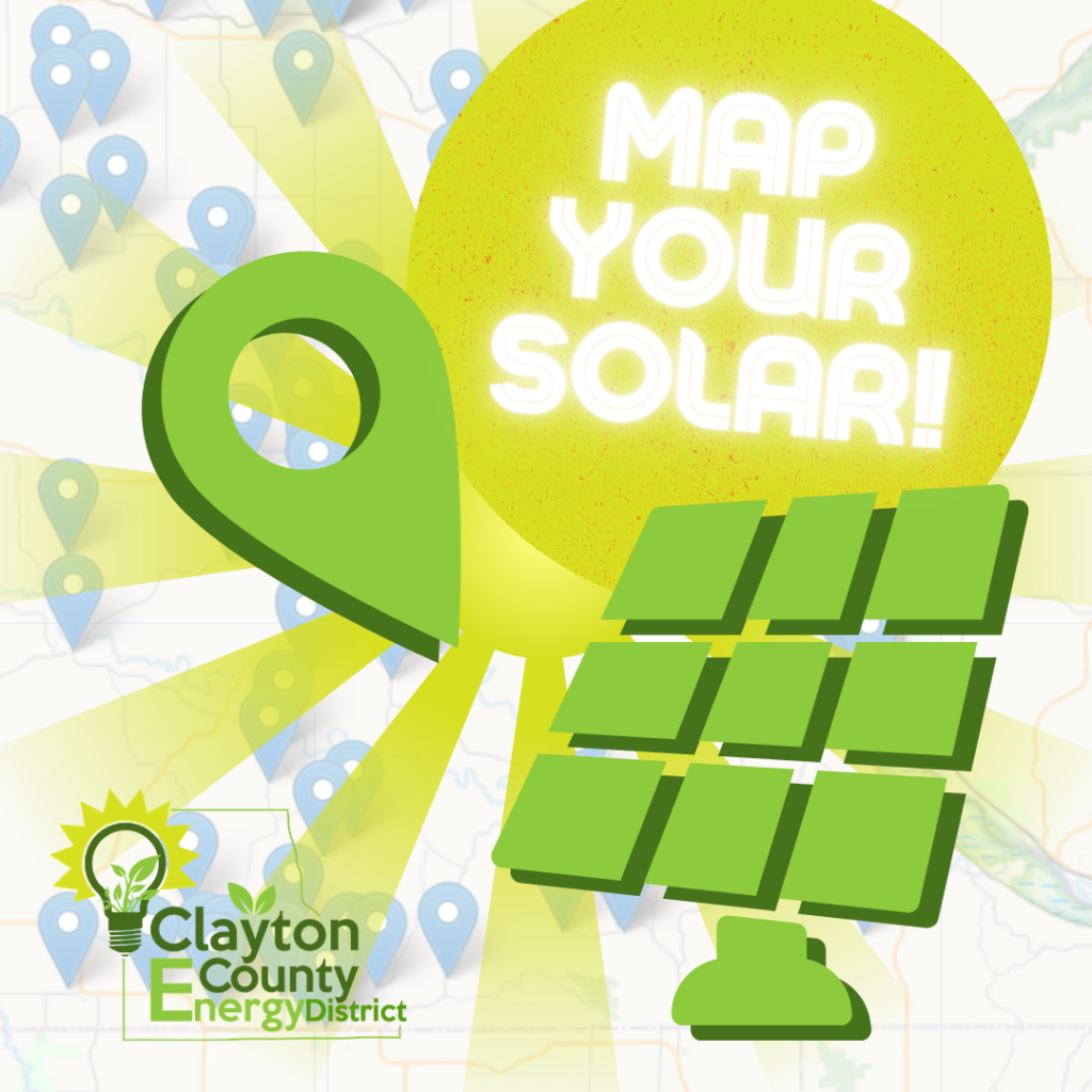 400% solar increase since the start of the CCED… help us continue to map it!